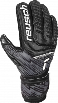 Reusch Attrakt Resist Finger Support Junior 5172610 7700 black front