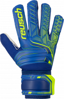 Reusch Attrakt SD 5070515 4940 blue yellow front