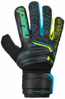 Reusch Attrakt SD 5070515 7052 black yellow front