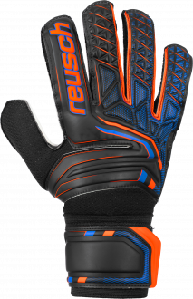 Reusch Attrakt SD 5070515 7783 black orange front