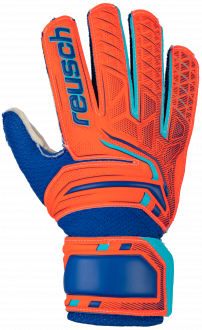 Reusch Attrakt SD Open Cuff Junior 5072515 2290 blue orange front