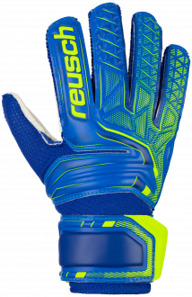 Reusch Attrakt SD Open Cuff Junior 5072515 4940 blue front