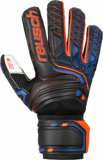 Reusch Attrakt SG 5070815 7783 black orange front