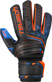 Reusch Attrakt SG Extra 5070835 7083 black blue orange front