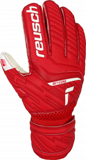Reusch Attrakt Silver Junior 5172215 3002 white red front