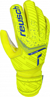 Reusch Attrakt Solid 5170515 2001 white blue yellow front