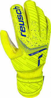 Reusch Attrakt Solid Junior 5172515 2001 white blue yellow front