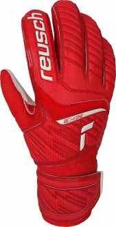 Reusch Attrakt Solid Junior 5172515 3002 white red front