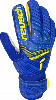 Reusch Attrakt Solid Junior 5172515 4940 blue yellow front