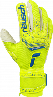 Reusch Attrakt SpeedBump 5170039 2001 white blue yellow front