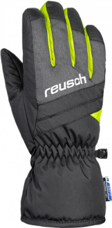 Reusch Bennet R-TEX® XT Junior 4861206 7686 black yellow grey front