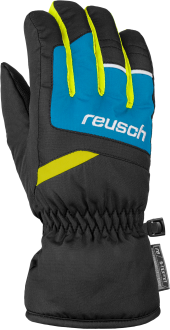 Reusch Bennet R-TEX® XT Junior 6061206 7002 black blue yellow front