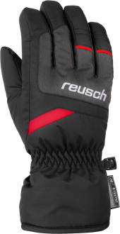 Reusch Bennet R-TEX® XT Junior 6061206 7680 black red grey front