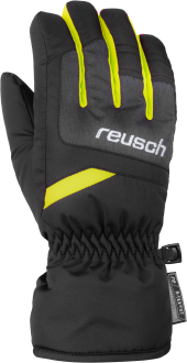 Reusch Bennet R-TEX® XT Junior 6061206 7686 black yellow grey front