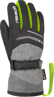 Reusch Bolt GTX Junior 4961305 7679 black green grey front