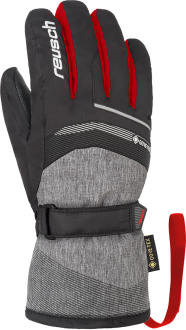 Reusch Bolt GTX Junior 4961305 7680 black red grey front