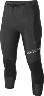 Reusch CS Short Hybrid 3_4 3717505 700 black front