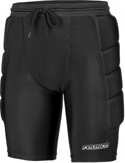 Reusch CS Short Soft Padded 3918520 700 black front