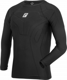 Reusch Compression Shirt Padded 5113700 7700 black front