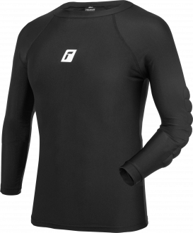 Reusch Compression Shirt Soft Padded 5113500 7700 black front