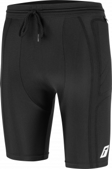 Reusch Compression Short XRD 5118900 7700 black front