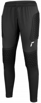 Reusch Contest II Pant Advance Junior 5126215 7702 black silver front