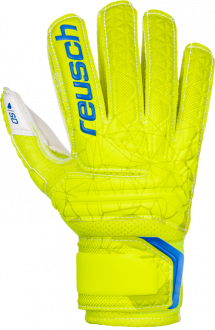 Reusch Fit Control SD Open Cuff Finger Support Junior 3972510 588 yellow front