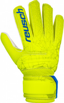 Reusch Fit Control SD Open Cuff Junior 3972515 588 yellow front