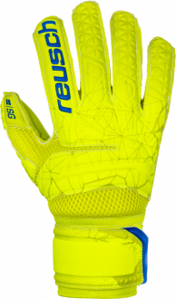 Reusch Fit Control SG Extra Finger Support 3970830 583 yellow front