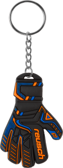 Reusch Keyring 5062970 7083 black blue orange front