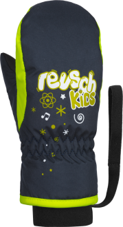 Reusch Kids Mitten 4885405 955 blue yellow front