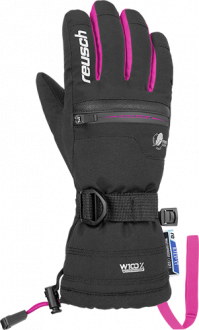 Reusch Luis R-TEX® XT Junior 4961243 7720 black pink front