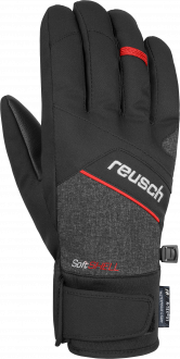 Reusch Luke R-TEX® XT 4801251 7680 black red grey front
