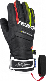 Reusch Marcel Hirscher R-TEX® XT Junior 4961211 7705 black red front