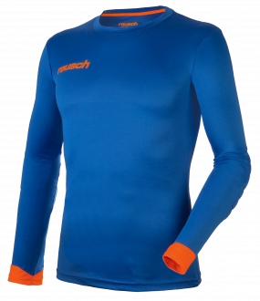 Reusch Match Longsleeve Padded 5011700 4467 blue orange front