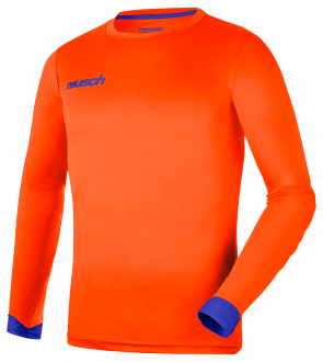 Reusch Match Longsleeve Padded Junior 5021700 2290 blue orange front