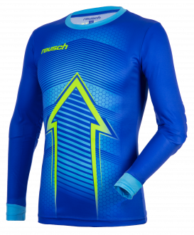 Reusch Match Pro Longsleeve Padded 5011300 4949 blue yellow front