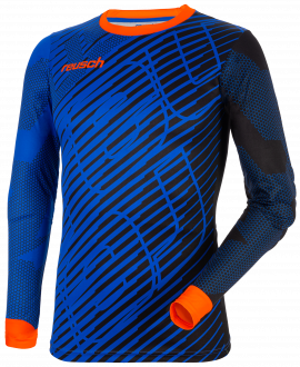 Reusch Match Pro Longsleeve Padded 5011300 7083 black blue orange front