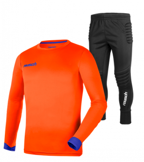 Reusch Match Set Junior 5040200 2290 blue orange front