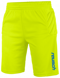 Reusch Match Short Padded Junior 3928700 500 yellow front