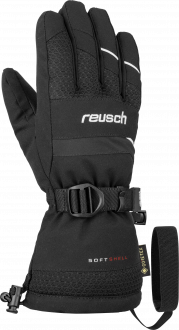Reusch Maxim GTX Junior 6061334 7701 white black front
