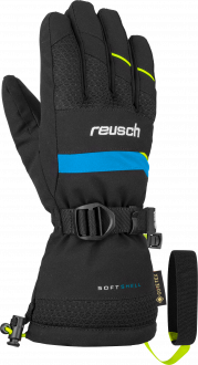 Reusch Maxim GTX Junior 6061334 7752 black yellow front