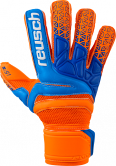 Reusch Prisma Prime S1 Evolution Finger Support 3870238 296 blue orange front