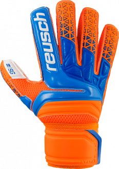 Reusch Prisma SG Finger Support 3870810 290 blue orange front