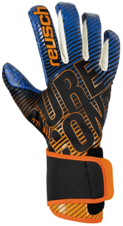 Reusch Pure Contact 3 G3 Fusion 5070900 7083 black blue orange front