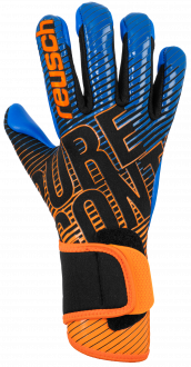 Reusch Pure Contact 3 S1 Junior 5072200 7083 black blue orange front