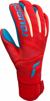 Reusch Pure Contact Aqua 5170400 3001 blue red front