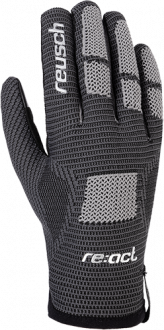 Reusch Re:Knit Approach TOUCH-TEC 4907122 7702 black silver front