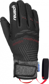Reusch Re:Knit Laurin R-TEX® XT 4901266 7745 black front