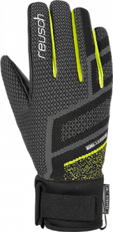 Reusch Re:Knit Victoria R-TEX® XT 4931204 7752 black yellow front